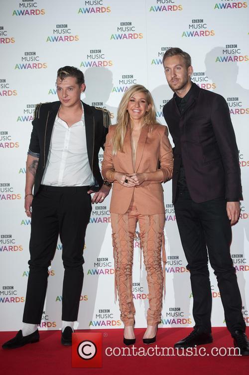 Ellie Goulding, John Newman and Calvin Harris 5