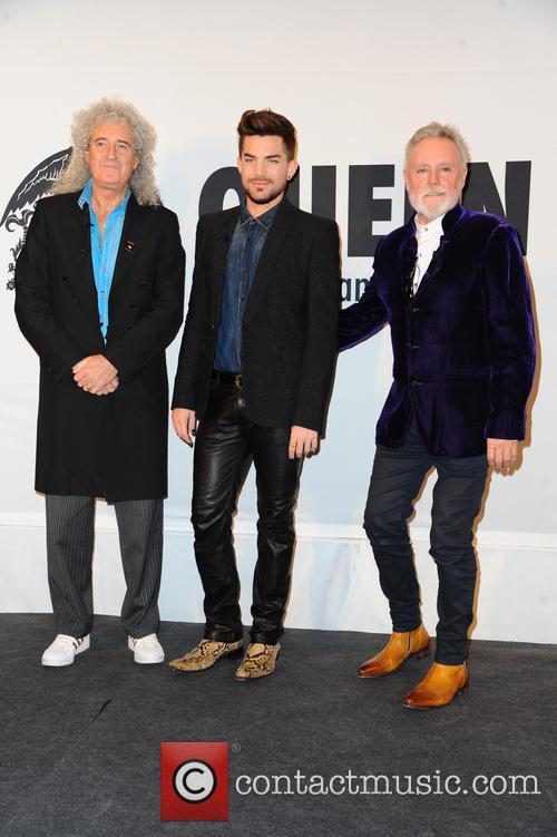 Queen, Brian May, Adam Lambert and Roger Taylor 2
