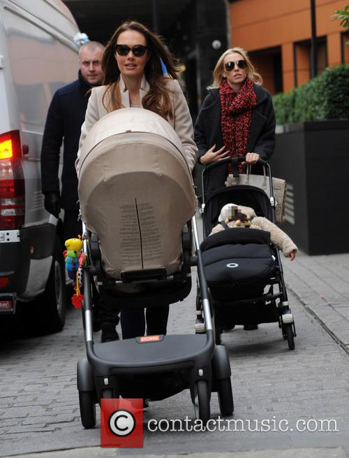 Tamara Ecclestone, Petra Stunt, Lavinia and Sophia 1