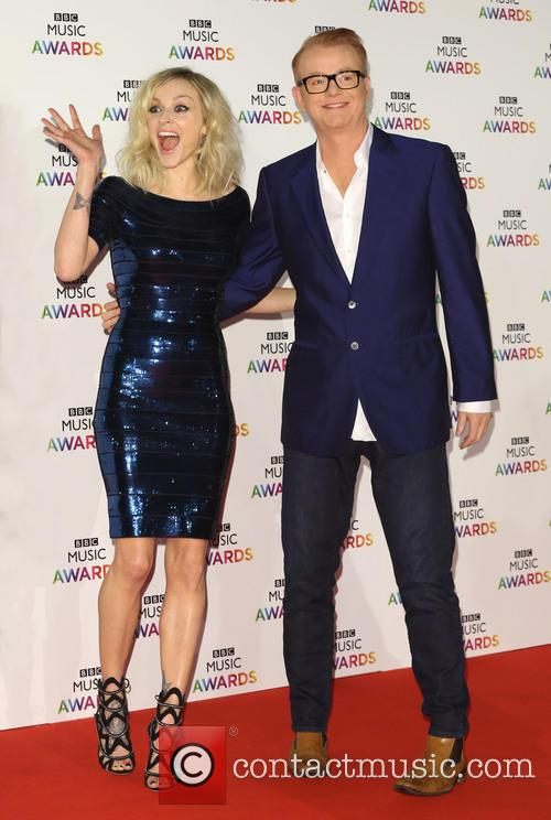 Fearne Cotton and Chris Evans 2