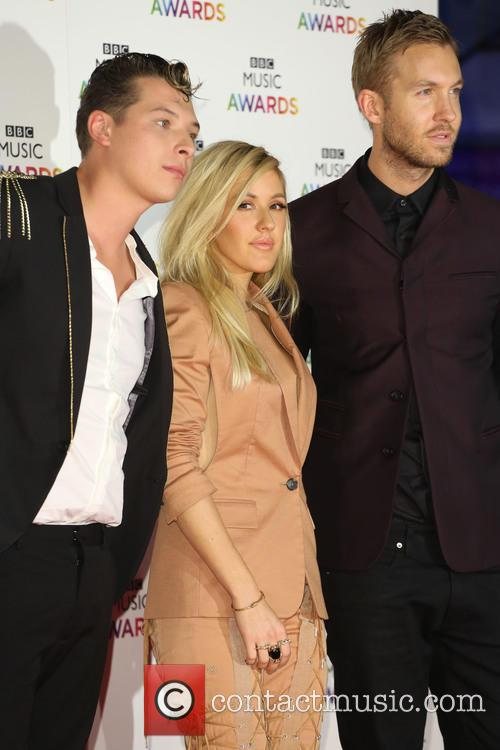 John Newman, Ellie Goulding and Calvin Harris