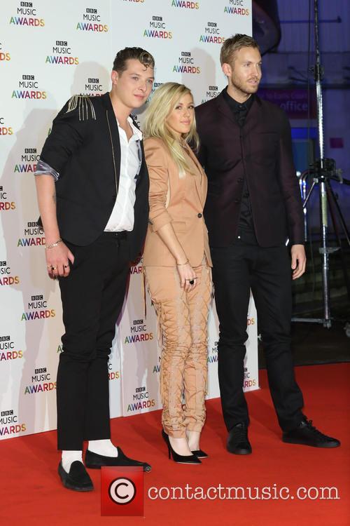 John Newman, Ellie Goulding and Calvin Harris 3