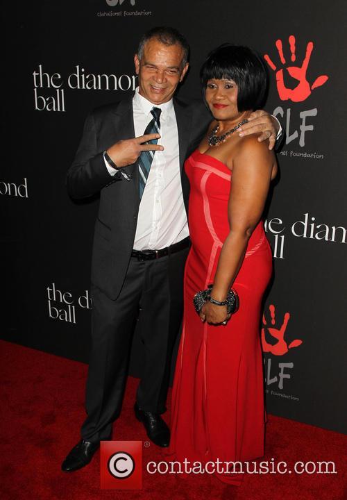 Rihanna, Lionel Braithwaite and Monica Braithwaite 9