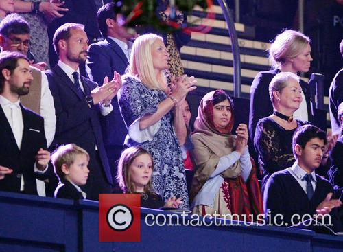 Crown Prince Haakon, Malala Yousafzai, Crown Princess and Peace