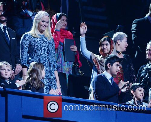 Peace, Malala Yousafzai and Crown Princess Mette- Marit Of Norway 2