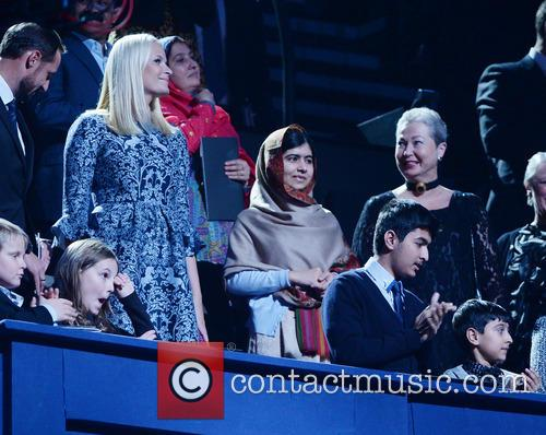 Peace, Malala Yousafzai and Crown Princess Mette- Marit Of Norway 3