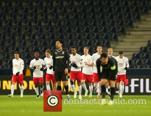 Uefa Europa League, Red Bull Salzburg and Astra Giurgiu 3