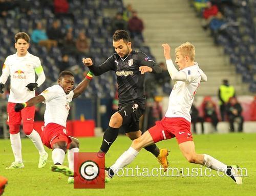 Uefa Europa League, Red Bull Salzburg and Astra Giurgiu 1