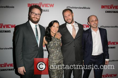 Seth Rogen, Diana Bang, Evan Goldberg and Dan Sterling