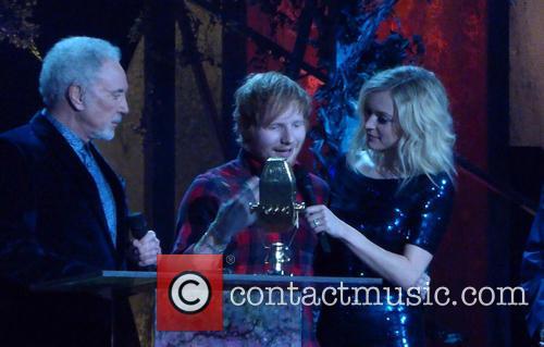 Tom Jones, Ed Sheeran and Fern Cotton 5