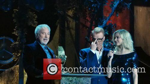 Tom Jones, Fearne Cotton and Chris Evans 8