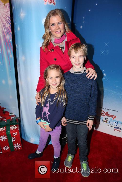 Alison Sweeney, Ben Sanov and Megan Hope Sanov 2