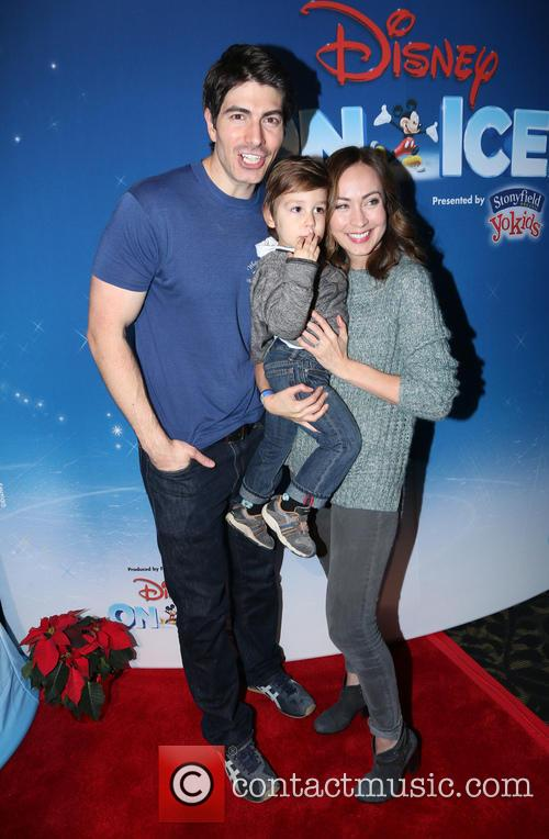 Brandon Routh, Courtney Ford and Leo James Routh 3