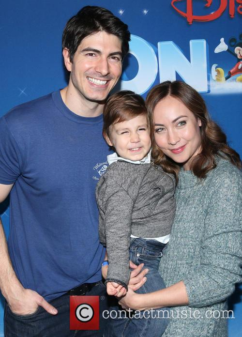 Brandon Routh, Courtney Ford and Leo James Routh 4