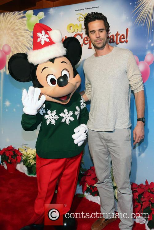 David Walton and Mickey Mouse