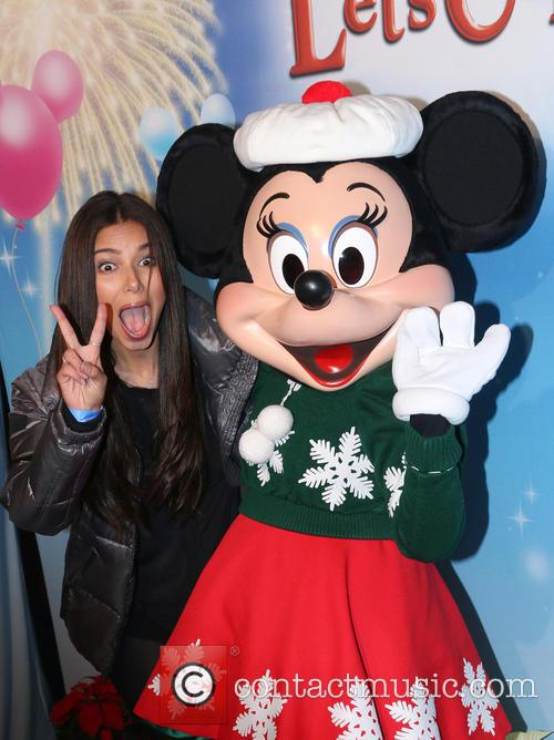 Roselyn Sanchez and Minnie Mouse 2