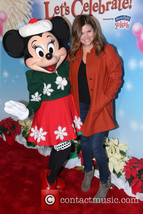 Tiffani Amber Thiessen and Minnie Mouse 2