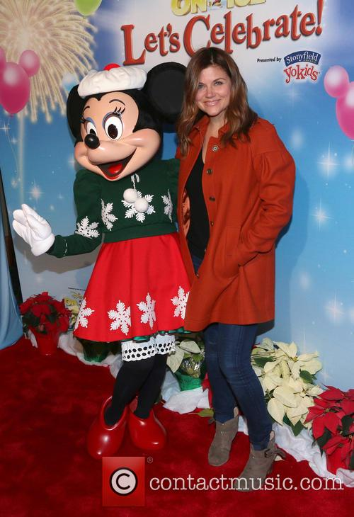 Tiffani Amber Thiessen and Minnie Mouse 1