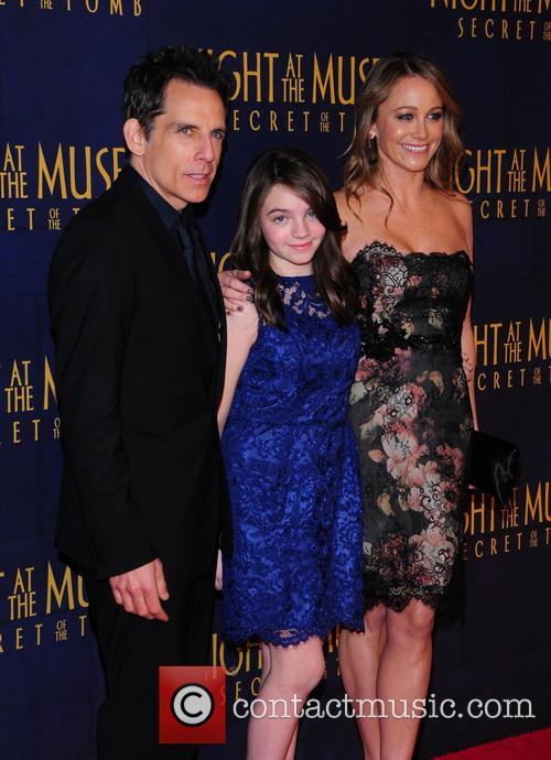 Ben Stiller and Christine Taylor 5