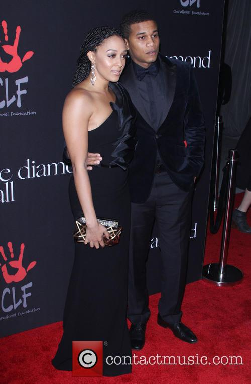 Tia Mowry-hardrict and Cory Hardrict 2