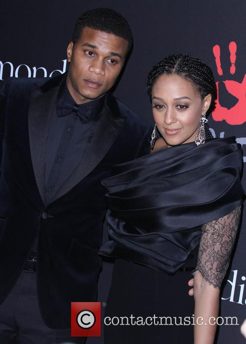 Tia Mowry-hardrict and Cory Hardrict 1