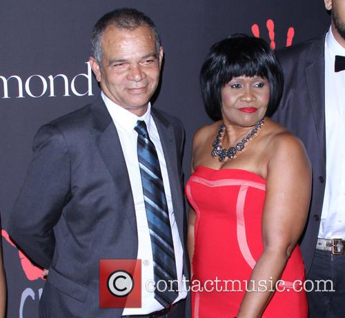 Rihanna, Ronald Fenty and Monica Braithwaite 1
