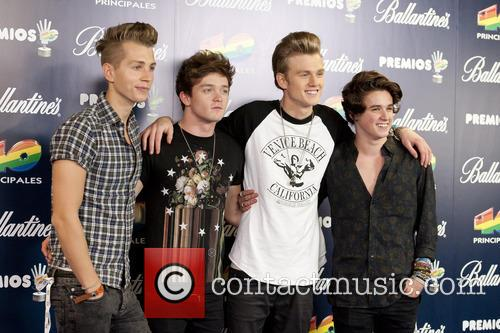 The Vamps, Bradley Simpson, Connor Ball, Tristan Evans and James Mcvey 3