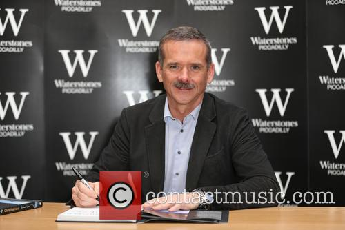 Chris Hadfield signing