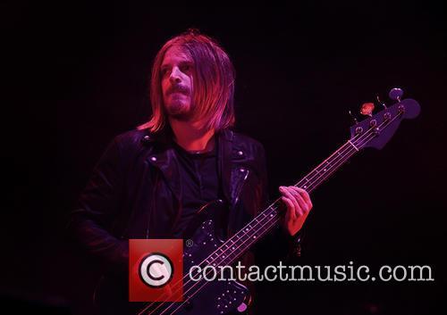 Kasabian perform at the Phones 4u Arena, Manchester