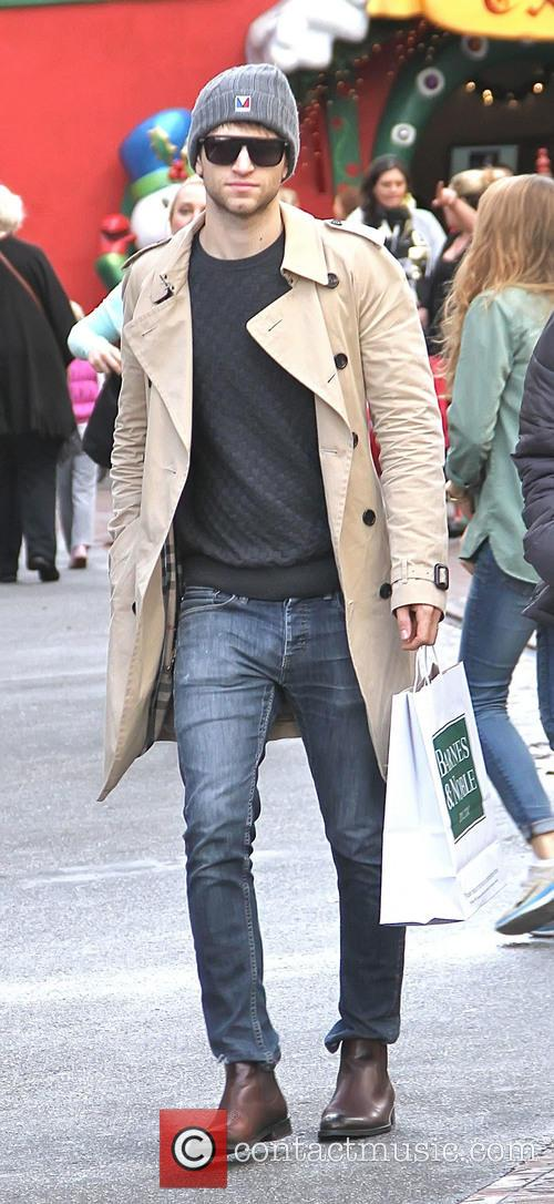 Keegan Allen spotted shopping at The Grove