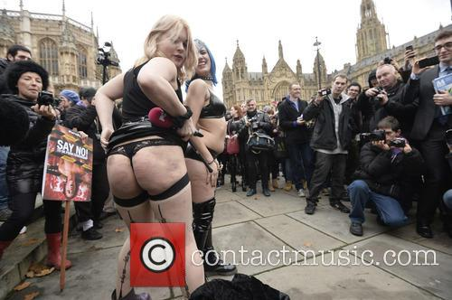 Porn Censorship Protest in Westminster
