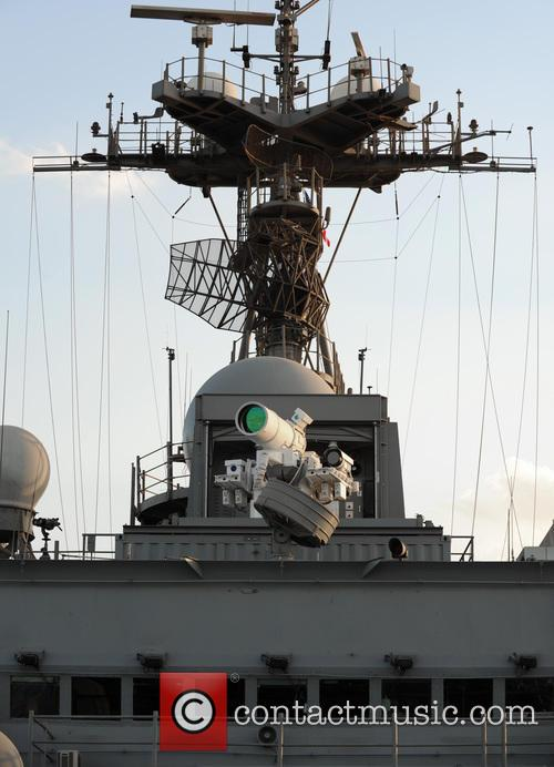 Us Navy Successfully Test and New Laser Weapon 2