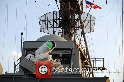 Us Navy Successfully Test and New Laser Weapon 3