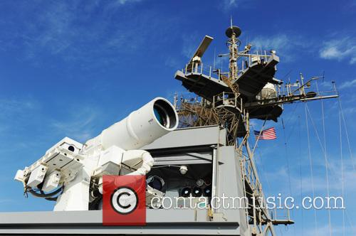 Us Navy Successfully Test and New Laser Weapon 6