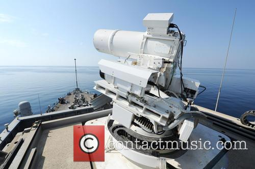 Us Navy Successfully Test and New Laser Weapon 7