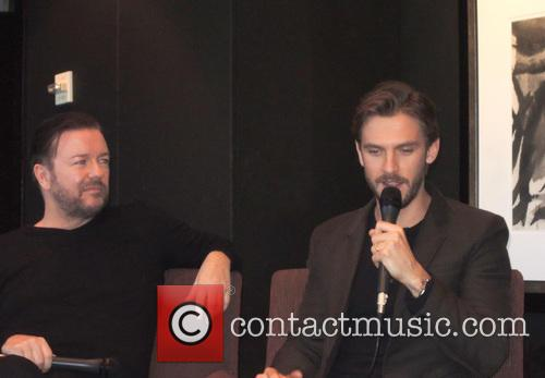 Ricky Gervais and Dan Stevens 2