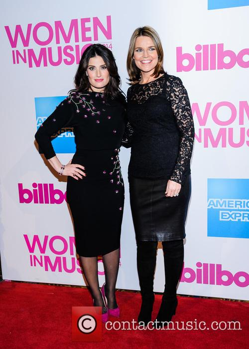 Idina Menzel and Savannah Guthrie 5