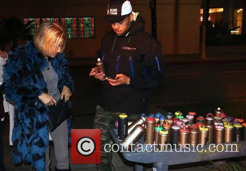 Karen Bystedt and Chris Brown 1