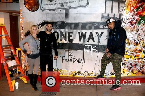 Karen Bystedt, Pascal Guetta and Chris Brown 5