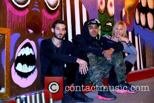 Pascal Guetta, Chris Brown and Karen Bystedt 4