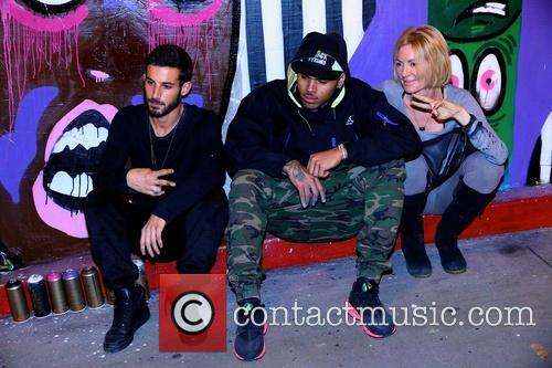 Pascal Guetta, Chris Brown and Karen Bystedt 5