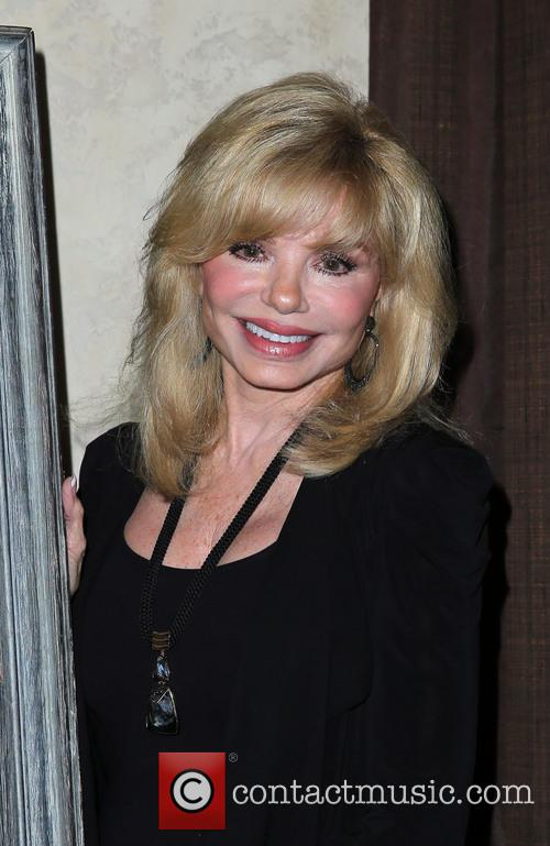 Loni Anderson attends an auction of Burt Reynolds'...