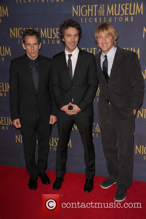 Ben Stiller, Director, Shawn Levy and Owen Wilson 1