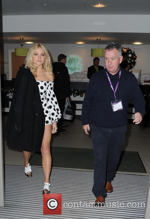 Pixie Lott arrives at BBC Breakfast