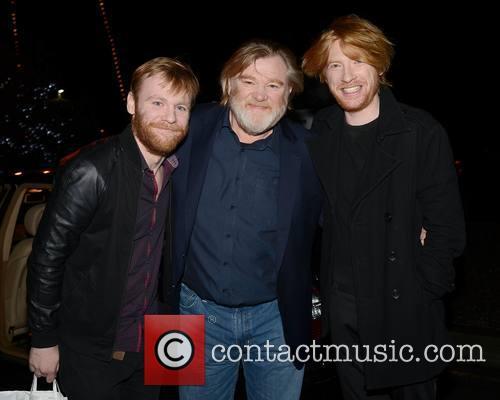 Brian Gleeson, Brendan Gleeson and Domhnall Gleeson 1