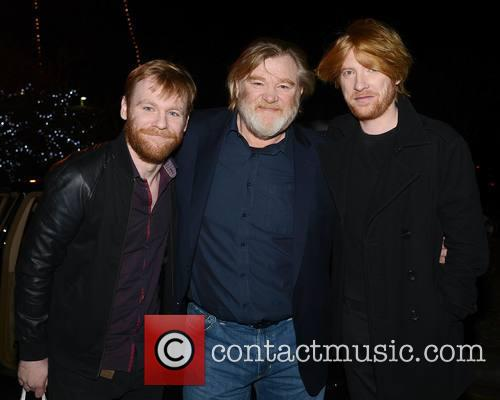 Brian Gleeson, Brendan Gleeson and Domhnall Gleeson 2