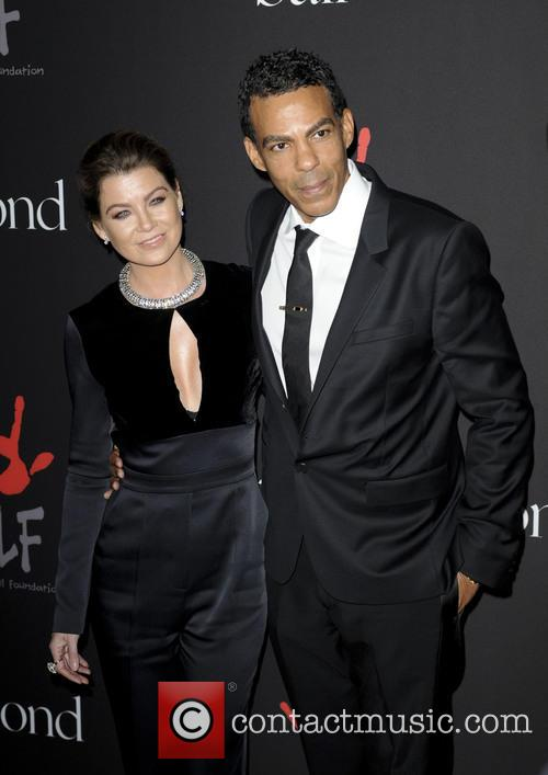 Chris Ivery and Ellen Pompeo 2