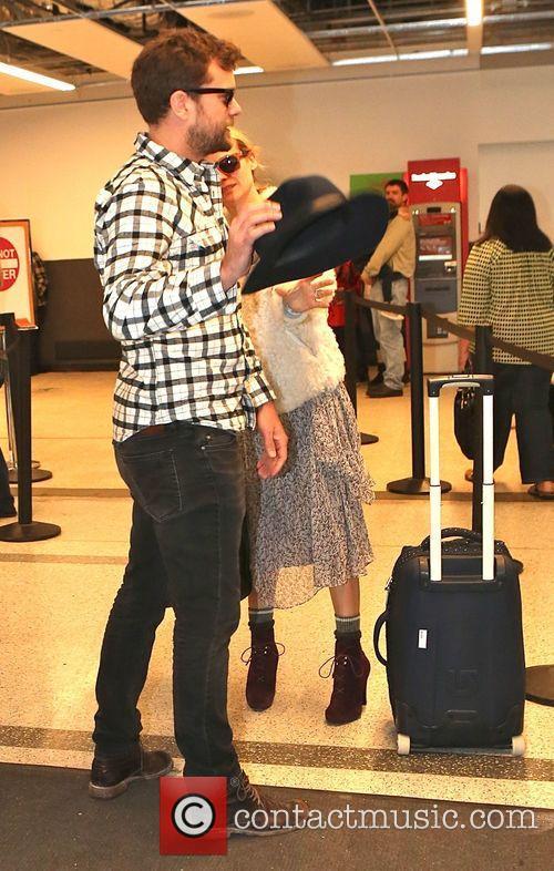 Diane Kruger and her boyfriend Joshua Jackson arrive...