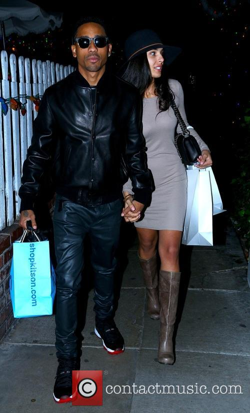 Brandon T. Jackson and Denise Xaviar 1