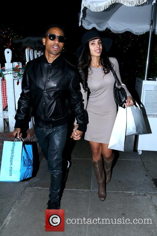 Brandon T. Jackson and Denise Xaviar 2